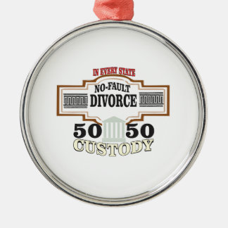 Ornamento De Metal reduza a custódia 50 50 automática dos divórcios