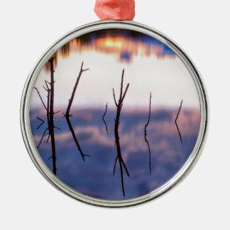 Ornamento De Metal Reflexões Twiggy caídas