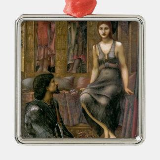 Ornamento De Metal Rei Cophetua e empregada doméstica de Edward - de