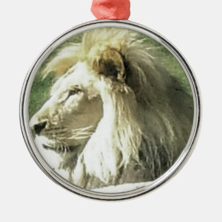 Ornamento De Metal Rei de animais
