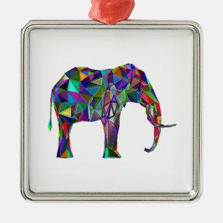 Ornamento De Metal Renascimento do elefante
