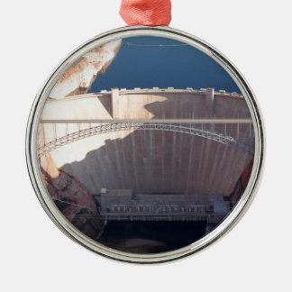 Ornamento De Metal Represa da garganta do vale e ponte, arizona