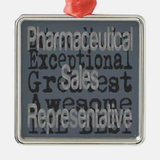 Ornamento De Metal Representante de vendas farmacêutico
