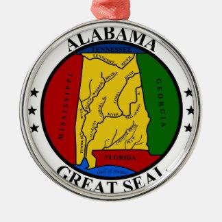 Ornamento De Metal Representante do símbolo da bandeira de Estados