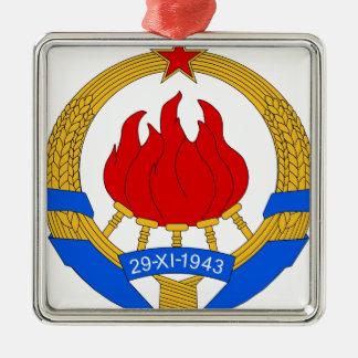 Ornamento De Metal República federal socialista do emblema de