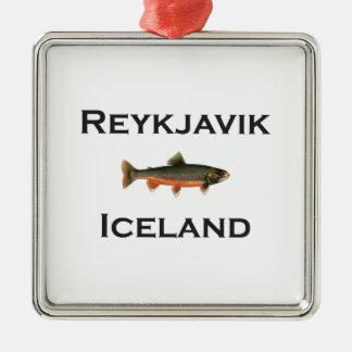Ornamento De Metal Reykjavik Islândia