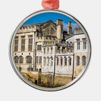 Ornamento De Metal Rio Ouse da capela da cidade de York