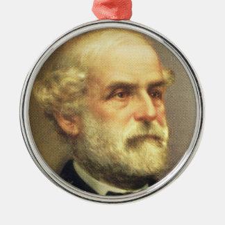 Ornamento De Metal Robert E. Lee