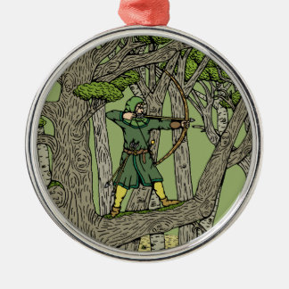 Ornamento De Metal Robin Hood