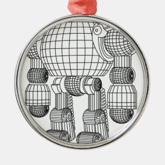 Ornamento De Metal robô