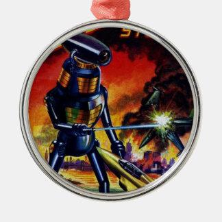 Ornamento De Metal Robô estrangeiro mau
