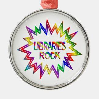 Ornamento De Metal Rocha das bibliotecas