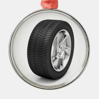 Ornamento De Metal Roda de carro