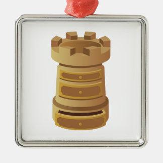 Ornamento De Metal Rook