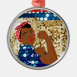 Ornamento De Metal rosie africano o rebitador