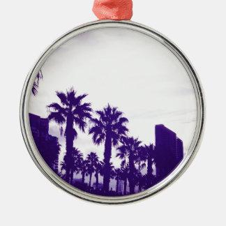 Ornamento De Metal Roxo de San Diego