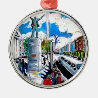 Ornamento De Metal rua Dublin do oconnell do monumento do larkin