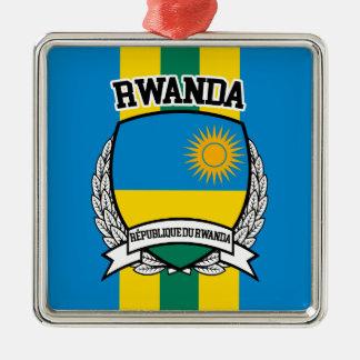 Ornamento De Metal Rwanda