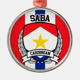 Ornamento De Metal Saba