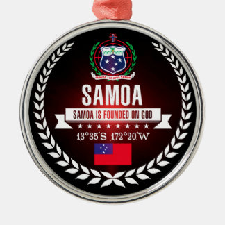 Ornamento De Metal Samoa