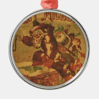 Ornamento De Metal Santa_Claus_Cover_Art