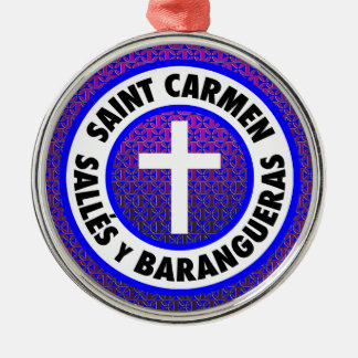 Ornamento De Metal Santo Carmen Salles y Barangueras
