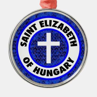 Ornamento De Metal Santo Elizabeth de Hungria