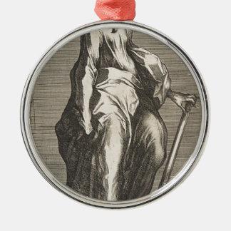 Ornamento De Metal Santo Jude (ou santo Matthias)