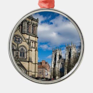 Ornamento De Metal Santo Wilfrids e Minster. de York