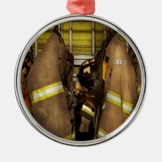 Ornamento De Metal Sapador-bombeiro - engrenagem do depósito