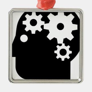 Ornamento De Metal Saúde mental
