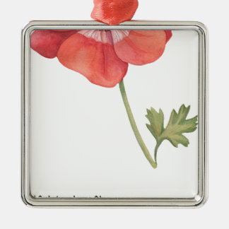 Ornamento De Metal Se eu tive uma flor