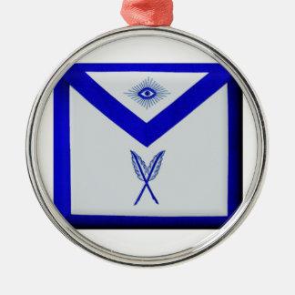 Ornamento De Metal Secretário maçónico Avental