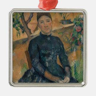 Ornamento De Metal Senhora Cézanne (Hortense Fiquet, 1850-1922)