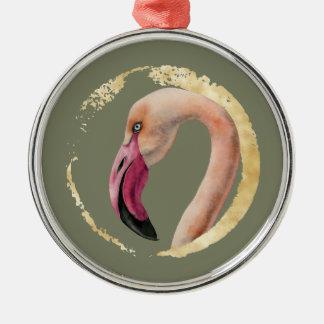 Ornamento De Metal Senhora cor-de-rosa