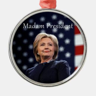 Ornamento De Metal Senhora presidente estilo 1