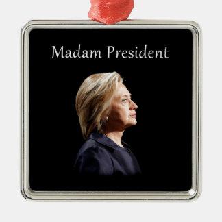 Ornamento De Metal Senhora presidente estilo 2