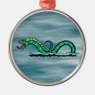 Ornamento De Metal Serpente de mar