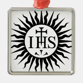 Ornamento De Metal SEU sol de Jesus
