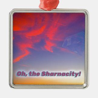 Ornamento De Metal Sharnacity