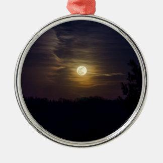 Ornamento De Metal Silhueta da lua