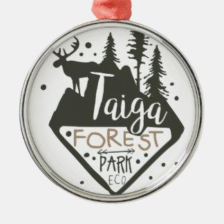 Ornamento De Metal Sinal do promo do parque do eco da floresta de