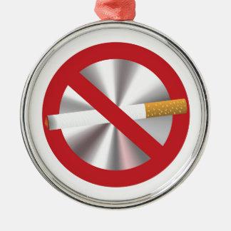 Ornamento De Metal sinal não fumadores
