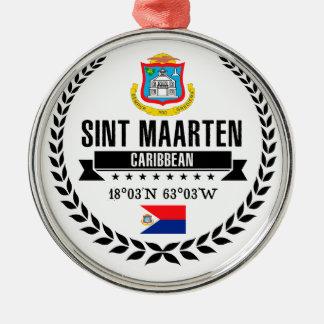Ornamento De Metal Sint Maarten
