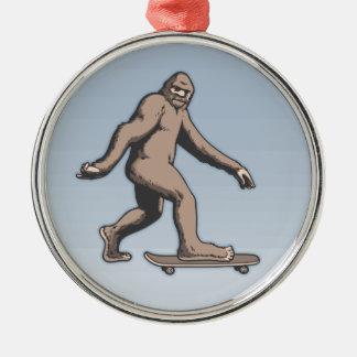 Ornamento De Metal Skate de Bigfoot