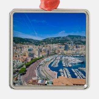 Ornamento De Metal Skyline de Monaco