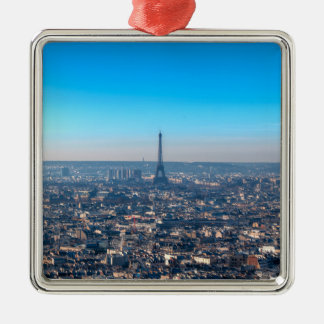 Ornamento De Metal Skyline de Paris