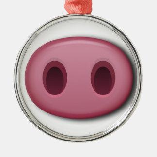 Ornamento De Metal Snout de PinkPig