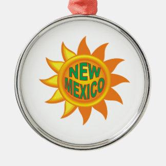 Ornamento De Metal Sol de New mexico
