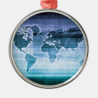 Ornamento De Metal Soluções globais da tecnologia